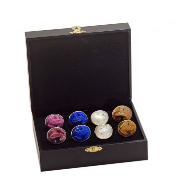 Frog Cuff Links Gift Pack Of Four Pairs