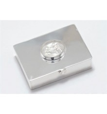 Rock Crystal Reverse Engraved Boxers Pill Box