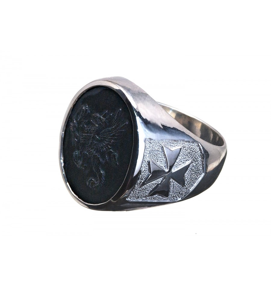 Onyx Ring From The Family Stone