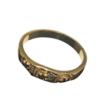 Reproduction Th C Gold Rings