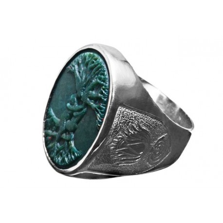 Bloodstone Ring Tree Of Life