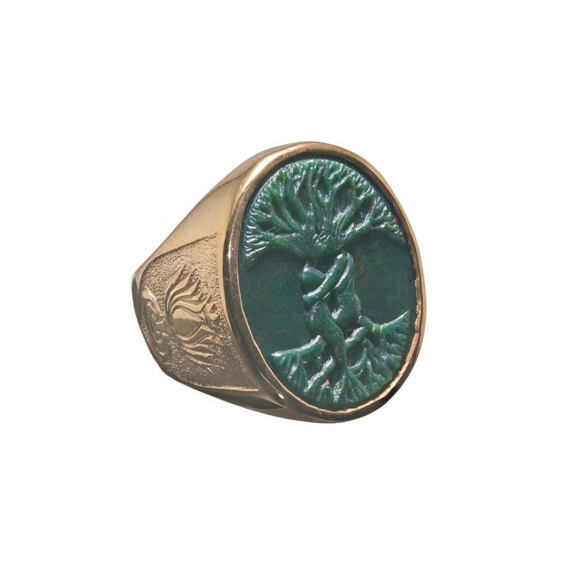 Bloodstone Tree Of Life Ring Regnas Jewelry