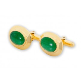 Korean Jade Cufflinks 925