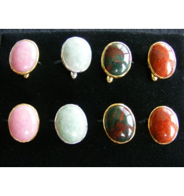 Gift Pack Four Pairs Traditional Oval Cuff Links