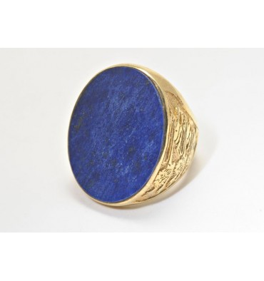 Lapis lions Ring Of England