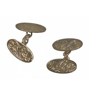 Traditional Edwardian Gold Plated Belgravia Cufflinks